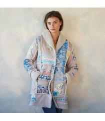 steppe sherpa coat