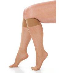 sheer knee-high