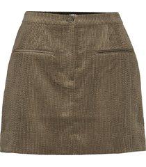 boyas new skirt kort kjol grön second female