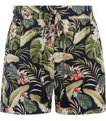 tropische geweven short