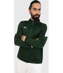 chaqueta verde-blanco under armour armour rival