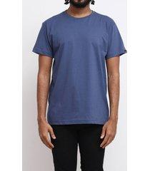 camiseta básica azul surf