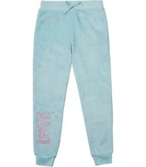 big girls tie waist sweatpants