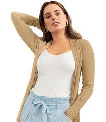 exterior camiseta beige leonisa f5729x2
