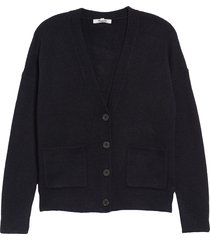women's madewell arbour cardigan sweater, size small - black