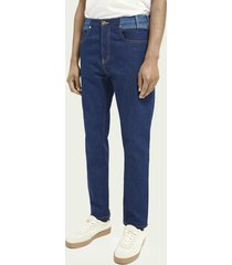 scotch & soda the norm plus straight fit high-rise jeans – dress for adventure