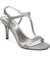 arden mid sandal med klack silver michael kors shoes