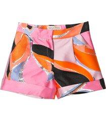 emilio pucci multicolor shorts