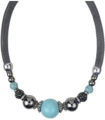 colar armazem maxi rr bijoux globos feminino