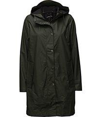 stala jacket 7357 regenkleding groen samsøe & samsøe