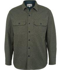 wolverine claw twill shirt charcoal heather, size xxl