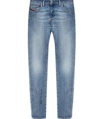 d-kras verontruste jeans