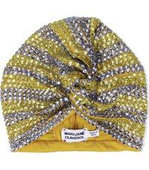maryjane claverol dominique turban - yellow