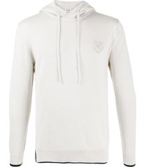 kenzo cotton-blend hoodie - neutrals