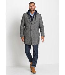 korte coat met reverskraag