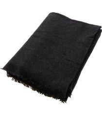 faliero sarti gray cashmere scarf