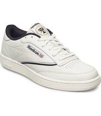 club c 85 låga sneakers vit reebok classics