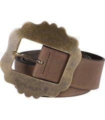 isabel marant beige leather lewa belt