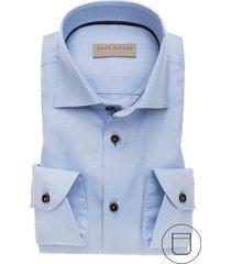 john miller overhemd blauw