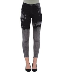 jeans tiro alto high waist skinny 3079 negro amalia jeans