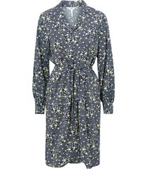 skjortklänning objfiona l/s short dress