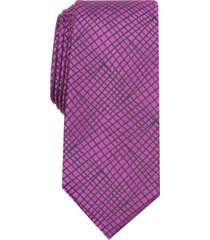 alfani men's slim abstract tie, created for macy's