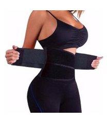 cinta modeladora faixa abdominal emagrecedora doctor secret