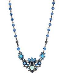 2028 black-tone necklace