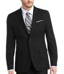 egara orange extreme slim fit suit black