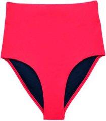 bikini calzón tiro alto rojo samia
