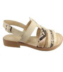 sandalia natural mdl calzados