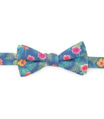 men's tropical bow tie