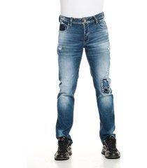jean skinny premium azul oscuro