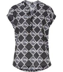 maglia in fantasia paisley (nero) - bodyflirt