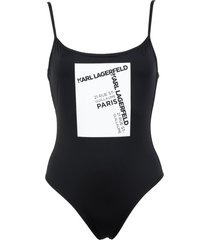 karl lagerfeld one-piece swimsuits