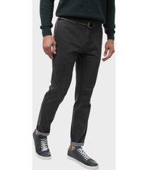 pantalon chino texturado spandex gris arrow