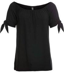 maglia da annodare (nero) - rainbow