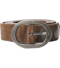 massimo alba brown mik belt