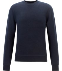boss men's bassi crewneck sweater