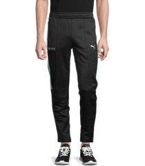 puma men's logo track pants - black - size xxl