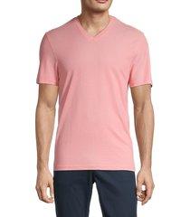 michael kors men's oxford pique v-neck t-shirt - cornflower - size xl