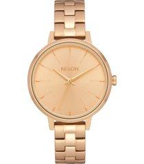 nixon medium kensington bracelet watch, 32mm in gold at nordstrom