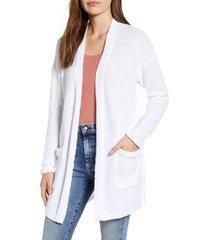 women's caslon boucle cardigan, size xx-large - white
