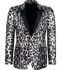 dolce & gabbana single-breasted one button jacket