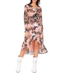 garden wrap dress