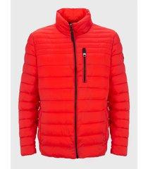 abrigo para caballero rojo calvin klein