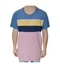 camiseta rvca shifty crew masculina