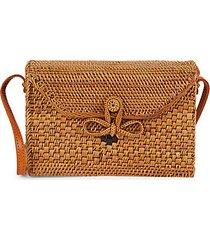 woven box crossbody bag