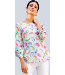 blouse alba moda mint