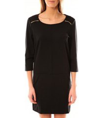 korte jurk vero moda greg 3/4 short dress 10098979 noir